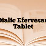 Dialic Efervesan Tablet