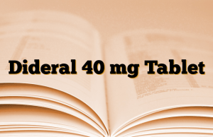 Dideral 40 mg Tablet
