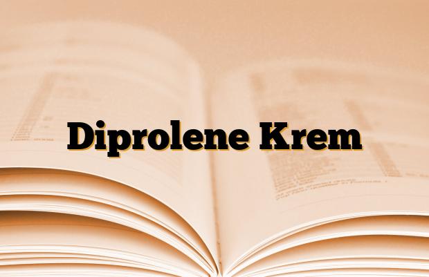 Diprolene Krem