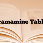 Dramamine Tablet
