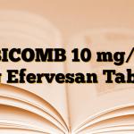 EBICOMB 10 mg/20 mg Efervesan Tablet