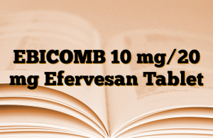 EBICOMB 10 mg/20 mg Efervesan Tablet