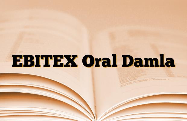 EBITEX Oral Damla