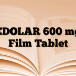 EDOLAR 600 mg Film Tablet