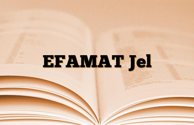EFAMAT Jel