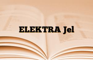 ELEKTRA Jel