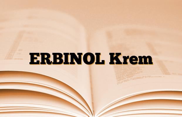 ERBINOL Krem