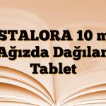 ESTALORA 10 mg Ağızda Dağılan Tablet