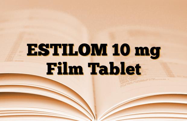 ESTILOM 10 mg Film Tablet