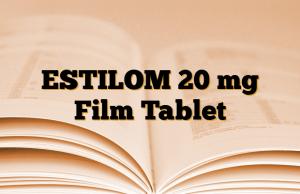 ESTILOM 20 mg Film Tablet