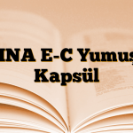 EVINA E-C Yumuşak Kapsül
