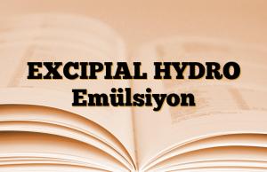 EXCIPIAL HYDRO Emülsiyon