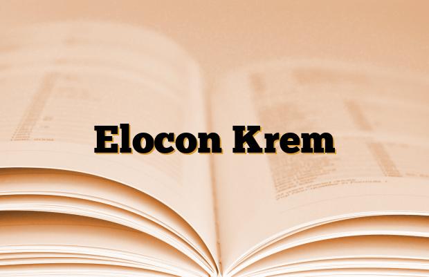 Elocon Krem