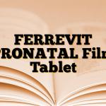 FERREVIT PRONATAL Film Tablet