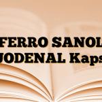 FERRO SANOL DUODENAL Kapsül
