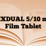 FIXDUAL 5/10 mg Film Tablet