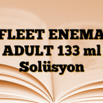 FLEET ENEMA ADULT 133 ml Solüsyon