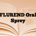 FLUREND Oral Sprey