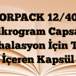 FORPACK 12/400 mikrogram Capsair İnhalasyon İçin Toz İçeren Kapsül