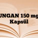 FUNGAN 150 mg 2 Kapsül