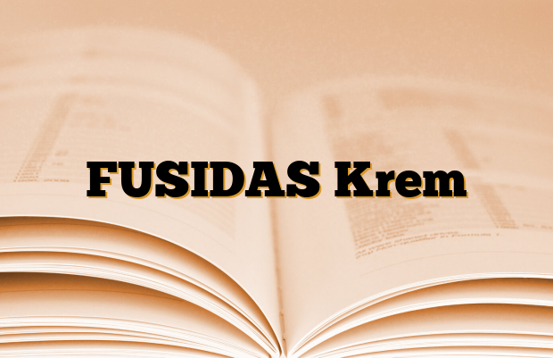 FUSIDAS Krem