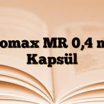 Flomax MR 0,4 mg Kapsül