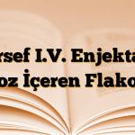 Forsef I.V. Enjektabl Toz İçeren Flakon