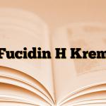 Fucidin H Krem