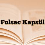 Fulsac Kapsül