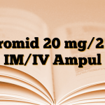 Furomid 20 mg/2 ml IM/IV Ampul