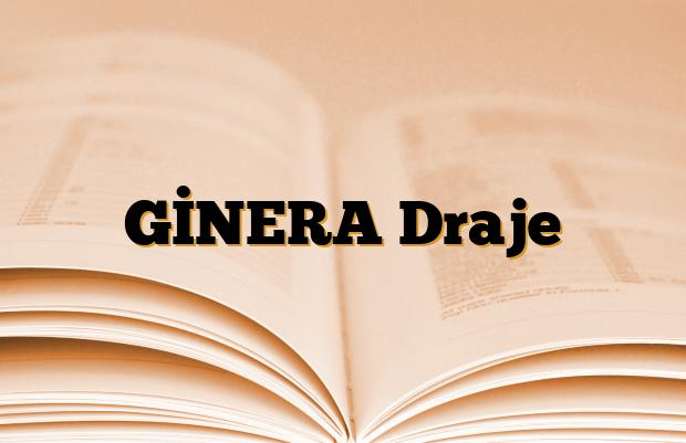 GİNERA Draje