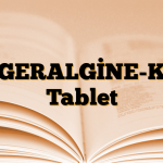 GERALGİNE-K Tablet