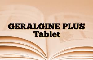 GERALGINE PLUS Tablet