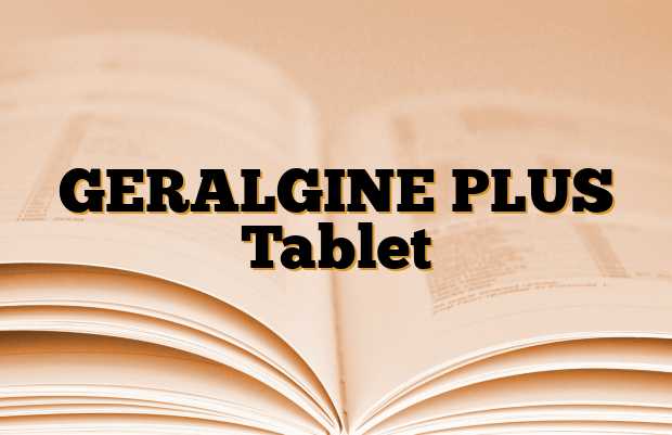 GERALGINE PLUS Tablet