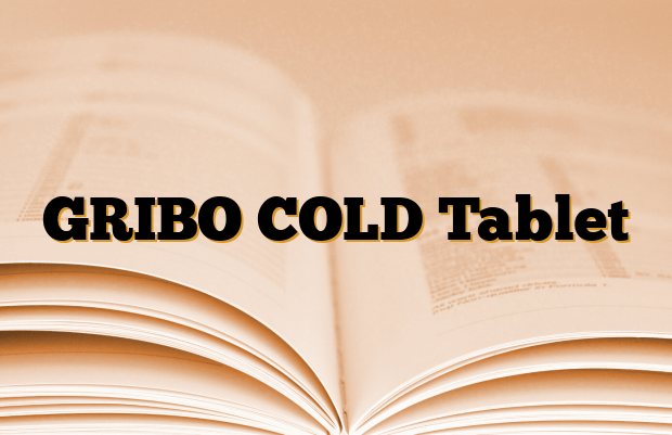 GRIBO COLD Tablet