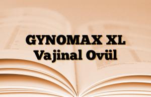 GYNOMAX XL Vajinal Ovül