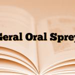 Geral Oral Sprey