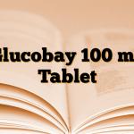 Glucobay 100 mg Tablet