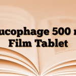Glucophage 500 mg Film Tablet