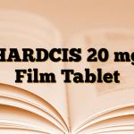 HARDCIS 20 mg Film Tablet