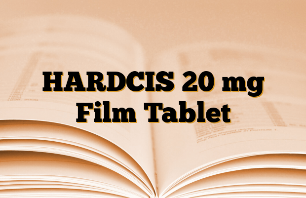 HARDCIS 20 mg Film Tablet