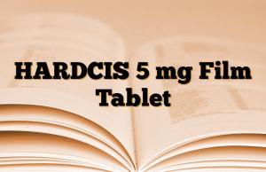 HARDCIS 5 mg Film Tablet