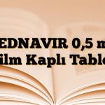 HEDNAVIR 0,5 mg Film Kaplı Tablet