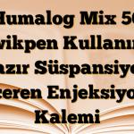 Humalog Mix 50 Kwikpen Kullanıma hazır Süspansiyon İçeren Enjeksiyon Kalemi