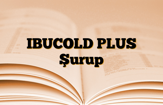 IBUCOLD PLUS Şurup