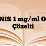 IGNIS 1 mg/ml Oral Çözelti
