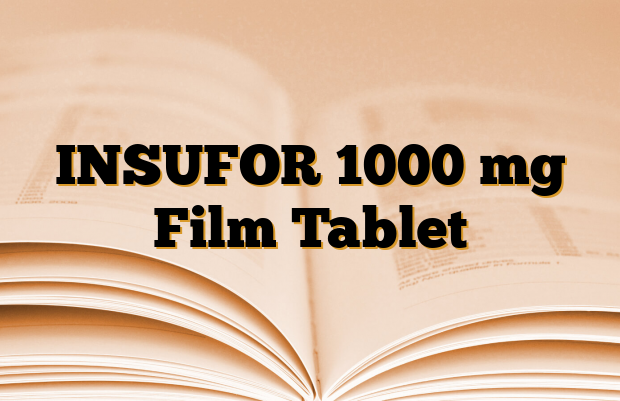 INSUFOR 1000 mg Film Tablet