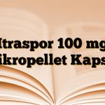 Itraspor 100 mg Mikropellet Kapsül