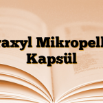 Itraxyl Mikropellet Kapsül
