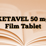 KETAVEL 50 mg Film Tablet